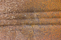 Decay metal rust surface, rusty background Royalty Free Stock Photos