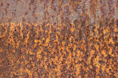 Decay metal rust surface, rusty background.  Royalty Free Stock Images