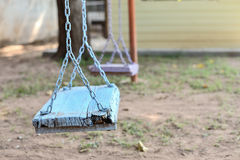 Decay swings Stock Image