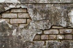 Decayed brick wall. An old decayed brick wall Royalty Free Stock Photo
