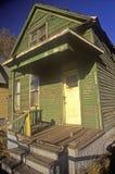 Decayed building in Detroit, MI slum Royalty Free Stock Photo