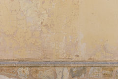 Decayed external wall Royalty Free Stock Photography