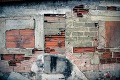 Decayed Facade Stock Photography
