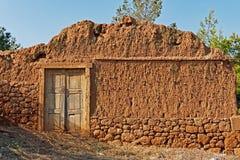 Decayed Mud Brick Wall Royalty Free Stock Photo