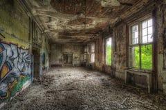 Decayed room Stock Photo