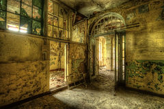 Decayed room Stock Photography