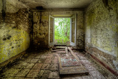 Decayed room Royalty Free Stock Photo