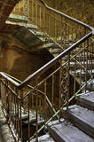 Decayed stairs Royalty Free Stock Photo