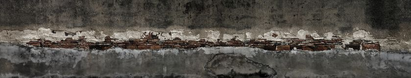 Decayed wall Royalty Free Stock Images