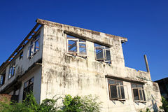 Decaying abandon building Royalty Free Stock Photos