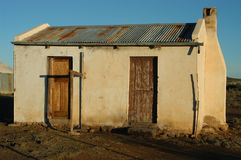 Decaying architecture at sunset Royalty Free Stock Photos