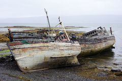 Decaying Boats Royalty Free Stock Photography