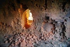 Decaying brick factory Royalty Free Stock Photos