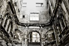 Decaying building Stock Photography