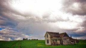 Decaying Farm House Stock Image
