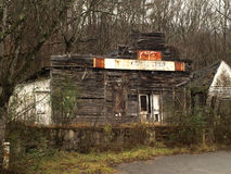 Decaying General Store Stock Photo