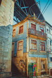 Decaying Porto Royalty Free Stock Photo