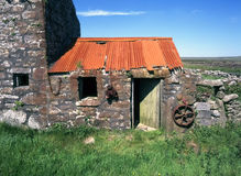 Decaying stone farm building Stock Photography