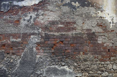 Decaying wall Royalty Free Stock Photos