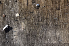 Decaying wooden background Royalty Free Stock Images