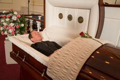 Deceased man Stock Photography