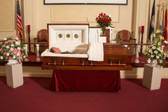 Deceased man Stock Photo