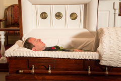Deceased man Royalty Free Stock Image