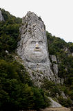 Decebal's head. Stock Images
