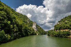 Decebalus Rex | On the boat Royalty Free Stock Image
