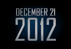 December 21, 2012. The date of the end of the world from Maya calendar Stock Photos