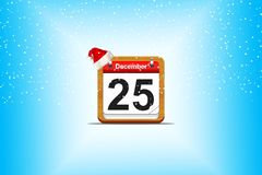 December 25. Royalty Free Stock Photography