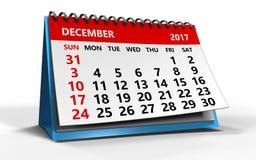 December 2017 Royalty-vrije Stock Fotografie
