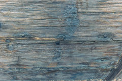 December 04, 2016: Ancient viking wood inside the Viking Ship Mu Stock Photos
