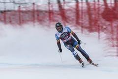 28 December 2017 - Bormio Italy - Audi FIS Ski World Cup. Bormio Italy 12/28/2017: pictures of the freeride ski world championship. The winner was the Italian Stock Image