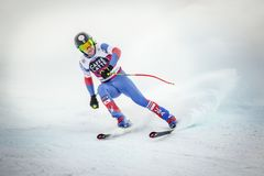 28 December 2017 - Bormio Italy - Audi FIS Ski World Cup Royalty Free Stock Photos