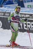 28 December 2017 - Bormio Italy - Audi FIS Ski World Cup. Bormio Italy 12/28/2017: pictures of the freeride ski world championship. The winner was the Italian Stock Photo