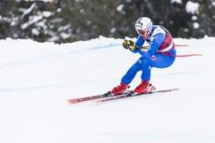 28 December 2017 - Bormio Italy - Audi FIS Ski World Cup. Bormio Italy 12/28/2017: pictures of the freeride ski world championship. The winner was the Italian Stock Photography