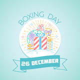 26 December Boxing Day stock illustration