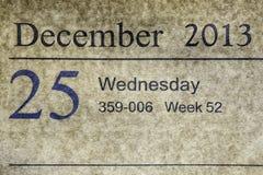 25-12-2013 Stock Photo