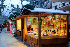 December 5, 2016: Christmas Market Royalty Free Stock Photo