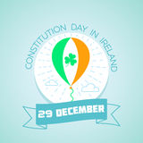 29 December  Constitution Day in Ireland. Calendar for each day on December 29. Greeting card. Holiday - Constitution Day in Ireland. Icon in the linear style Royalty Free Stock Images