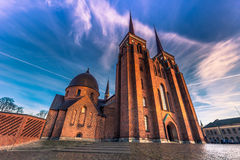 December 04, 2016: Front of the Cathedral of Saint Luke in Roski Royalty Free Stock Image