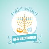 24 december  hanukkah Stock Photos