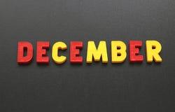December Royalty Free Stock Photos