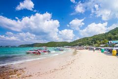 December 4, 2015 Koh Lan tourist places in the city. Located on. The eastern shore of the Gulf Thailand,Thailand Stock Photography