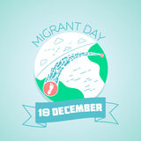 18  December migrant day Royalty Free Stock Photo