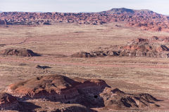 December 21, 2014 - Petrified Forest, AZ, USA Stock Image