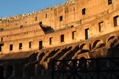 26 December 2014 Rome, Italië - Colosseum Royalty-vrije Stock Afbeeldingen