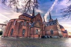 04 december, 2016: Sideview van de kathedraal van Heilige Luke in Ro Royalty-vrije Stock Foto's