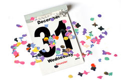 31. December 2014 Silvester Stock Photos